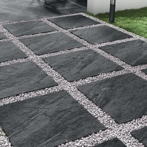 porcelain paving country range