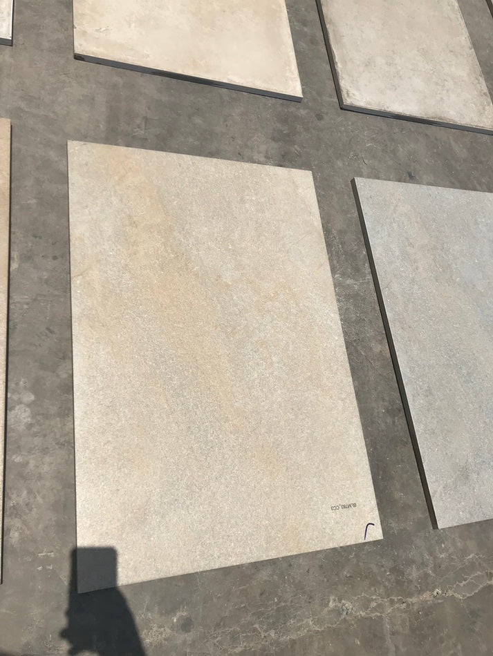 natural sandstone effect porcelain paving