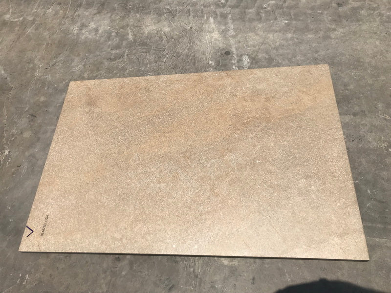 silver grey granite block