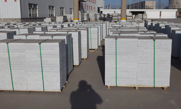 silver grey granite factory