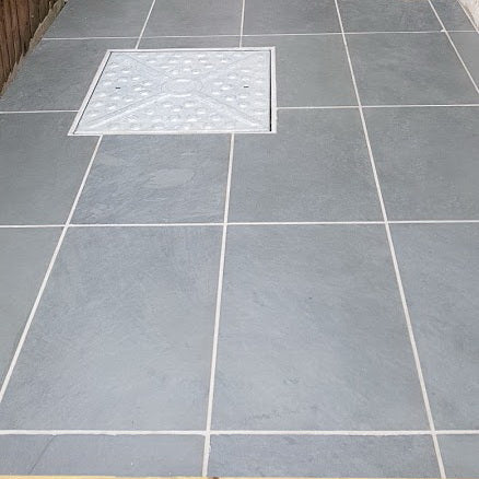 Slate Patio Slabs >> Brazilian Slate Paving Slabs Cloud Grey Slate For Patio Paving 800x400
