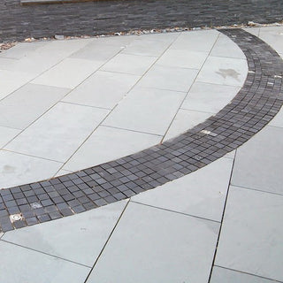 Brazilian Slate Paving, Grey Slate for Patio 800x400, 20mm Calibrated £28.00/m2