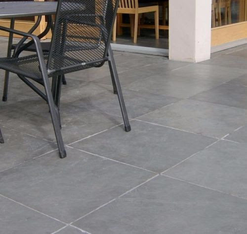 Grey Slate Paving Slabs, Brazilian Slate 600x600, 20mm Calibrated £25.15/m2