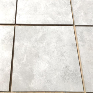 Porcelain Paving, Ash Cement 600x600x20mm £27.29/m2