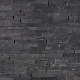 Split Face Tiles, Wall Cladding, Black Slate Cladding 550x150 £24.78/m2