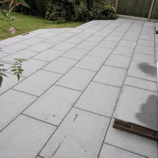 Blue Grey Granite Paving Slabs, Mid Grey 900x600 £31.19/m2