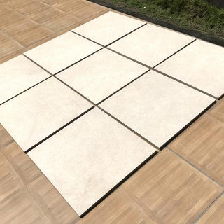 Porcelain Paving, Cream Monolith 600x600x20mm £27.29/m2