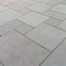 Kurnool Grey Limestone Paving, Dove Grey Sawn Edge 600x600 22mm Cal. £20.43/m2