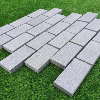 Edging Stones, Paving Edging, Blue Grey Granite Setts 200x100x30mm £40.83/m2