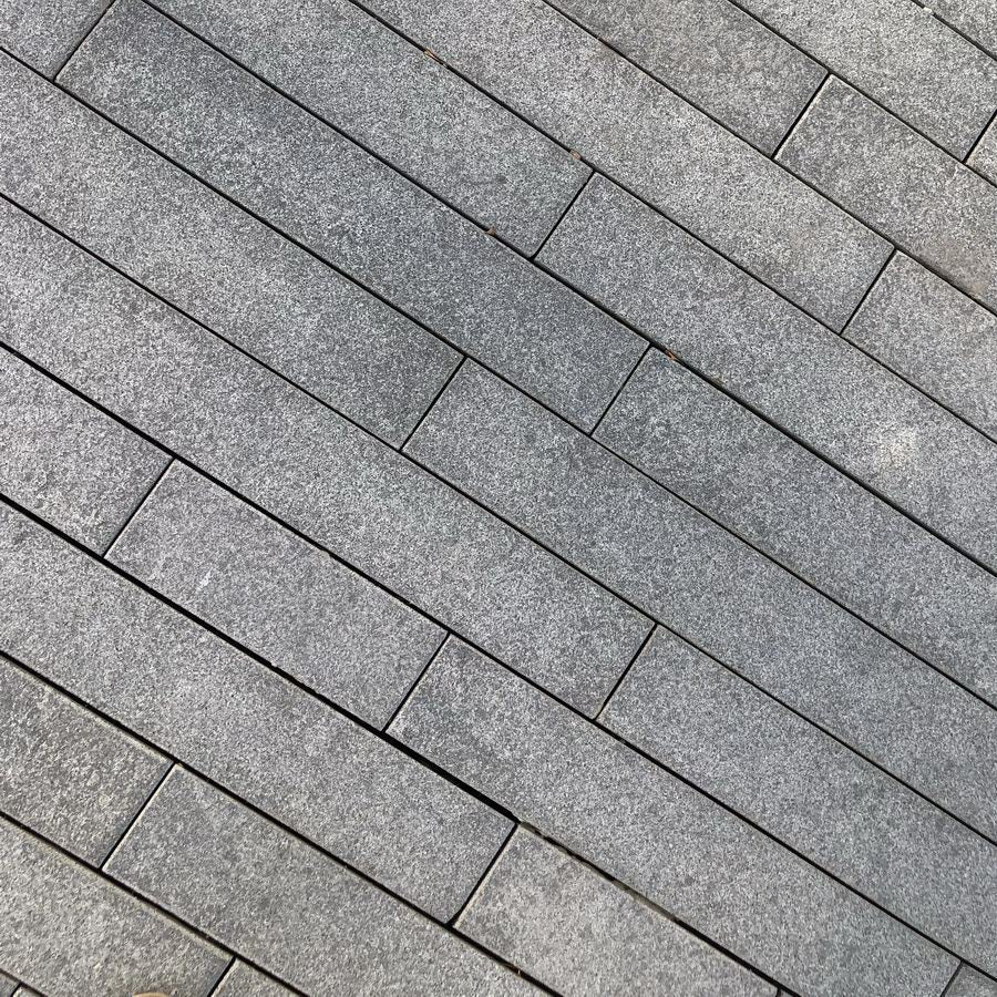 Blue Grey Granite Plank Paving Blue Black 900x200 £31.19/m2