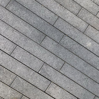 Blue Grey Granite Plank Paving Blue Black 900 x 200 £31.19/m2