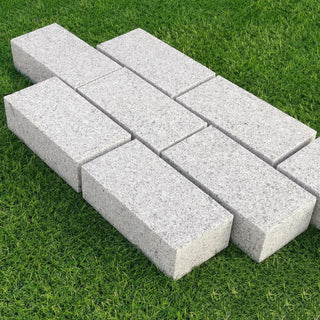 Sawn Granite Setts Silver Grey, Block Driveway Paving, 200 x 100 x 50 mm £47.99/m2