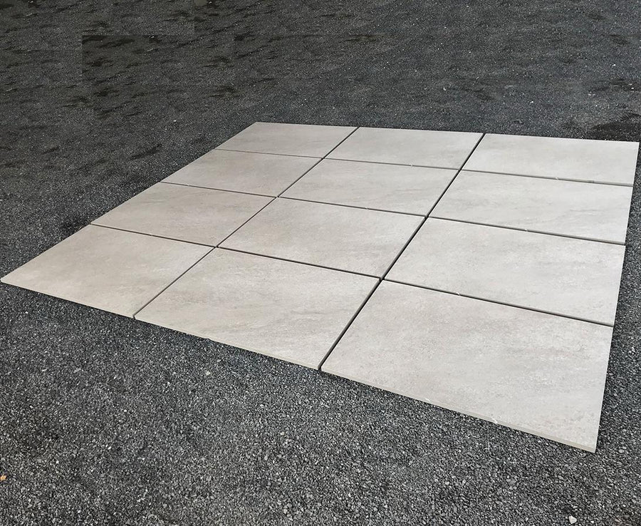 Porcelain Paving, Hammer Grey Porcelain Slabs 900x600x20mm £28.99/m2