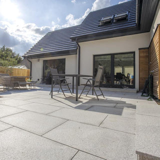 Glacier Ice Granite Paving, Silver Grey 900 x 600 x 25mm £28.91/m2