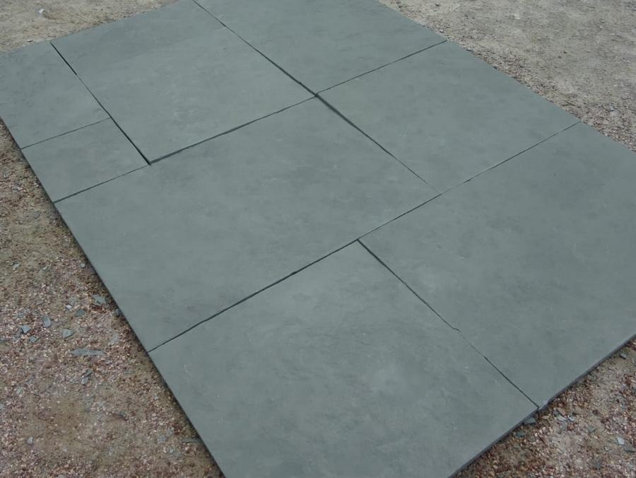 Kota Blue Limestone Paving, Sawn Edge 900x600 22mm Cal. £22.12/m2