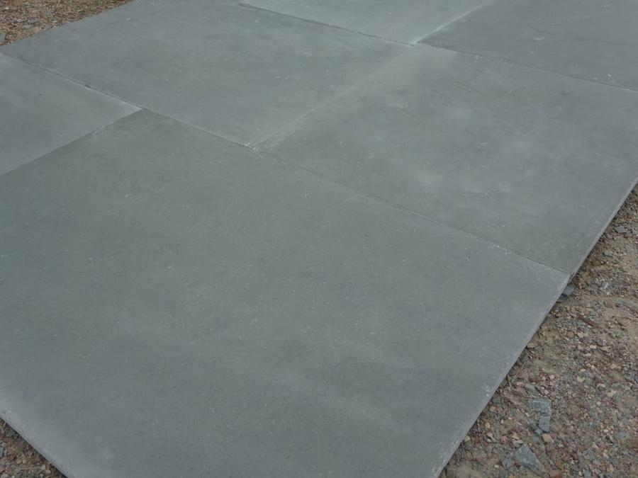 Kota Blue Limestone Paving, Sawn Edge 900x600 22mm Cal. £19.89/m2