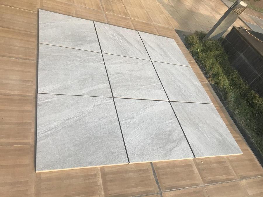 Light Grey Porcelain Paving, Country LGY 900x600x20mm £25.99/m2
