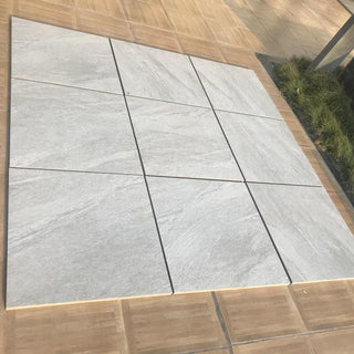Light Grey Porcelain Paving, Country LGY 600x600x20mm £24.99/m2