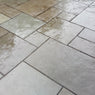 Dove Grey Limestone Paving, Sawn Edge 900x600 22mm Cal. £20.43/m2