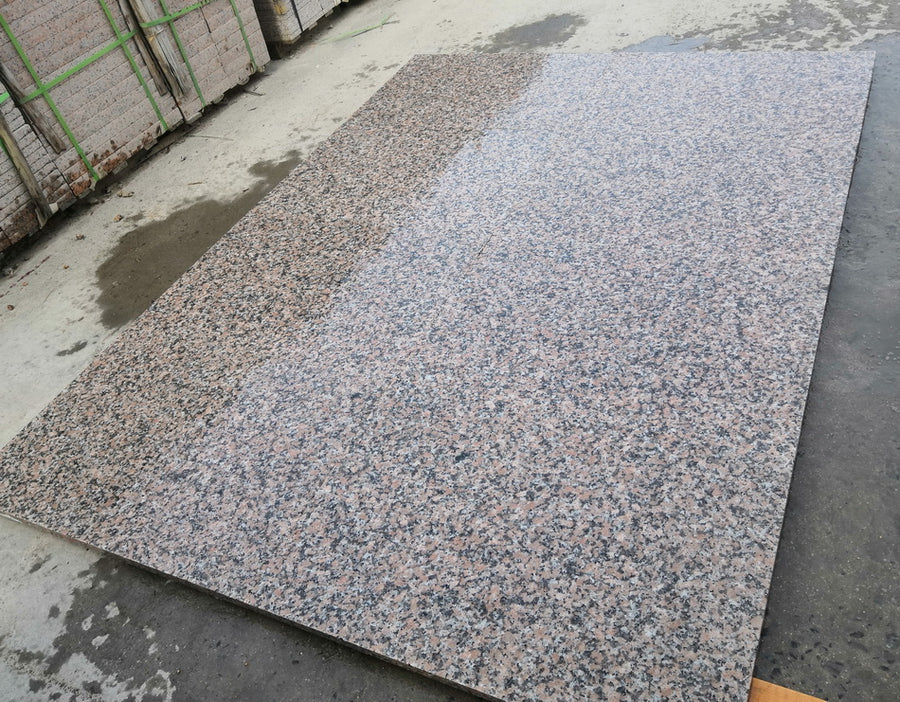 Pink Granite Paving Slabs Maple Red 900 x 600 £22.79/m2