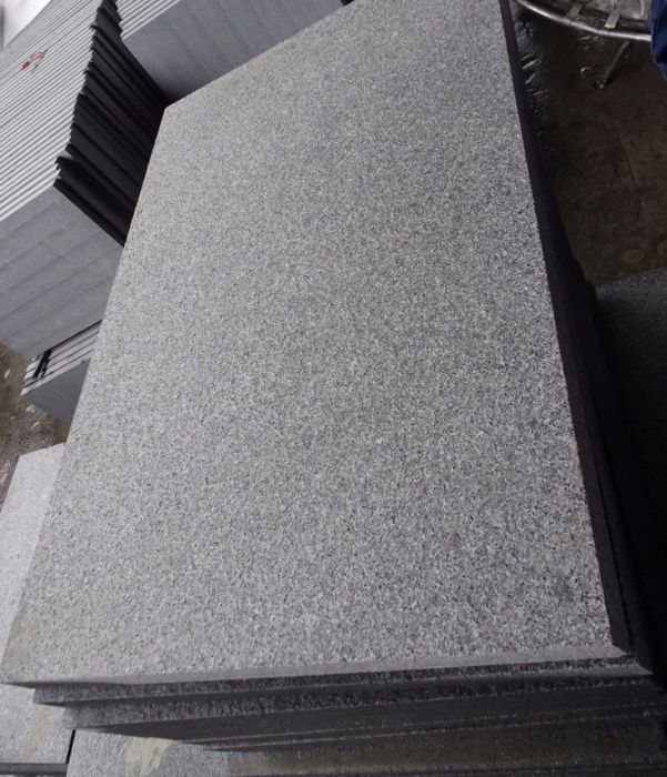 Graphite Grey Granite Paving Slabs - Mid Grey - 600x600 £28.50/m2
