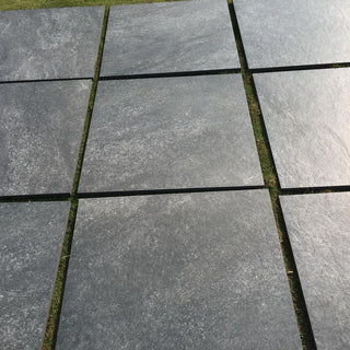 Porcelain Paving, Hammerstone Nero Black 600x600x20mm £24.99/m2