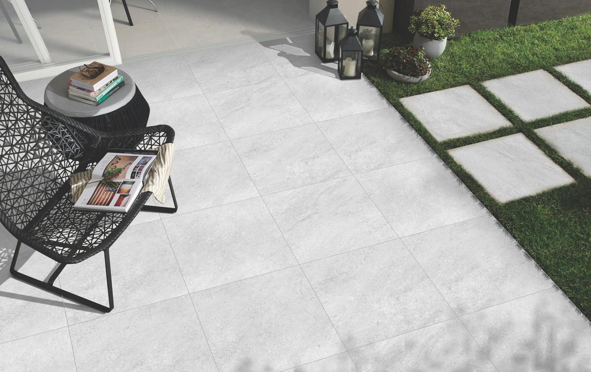 Porcelain Paving, Hammerstone Grey 900x600x20mm £26.99/m2
