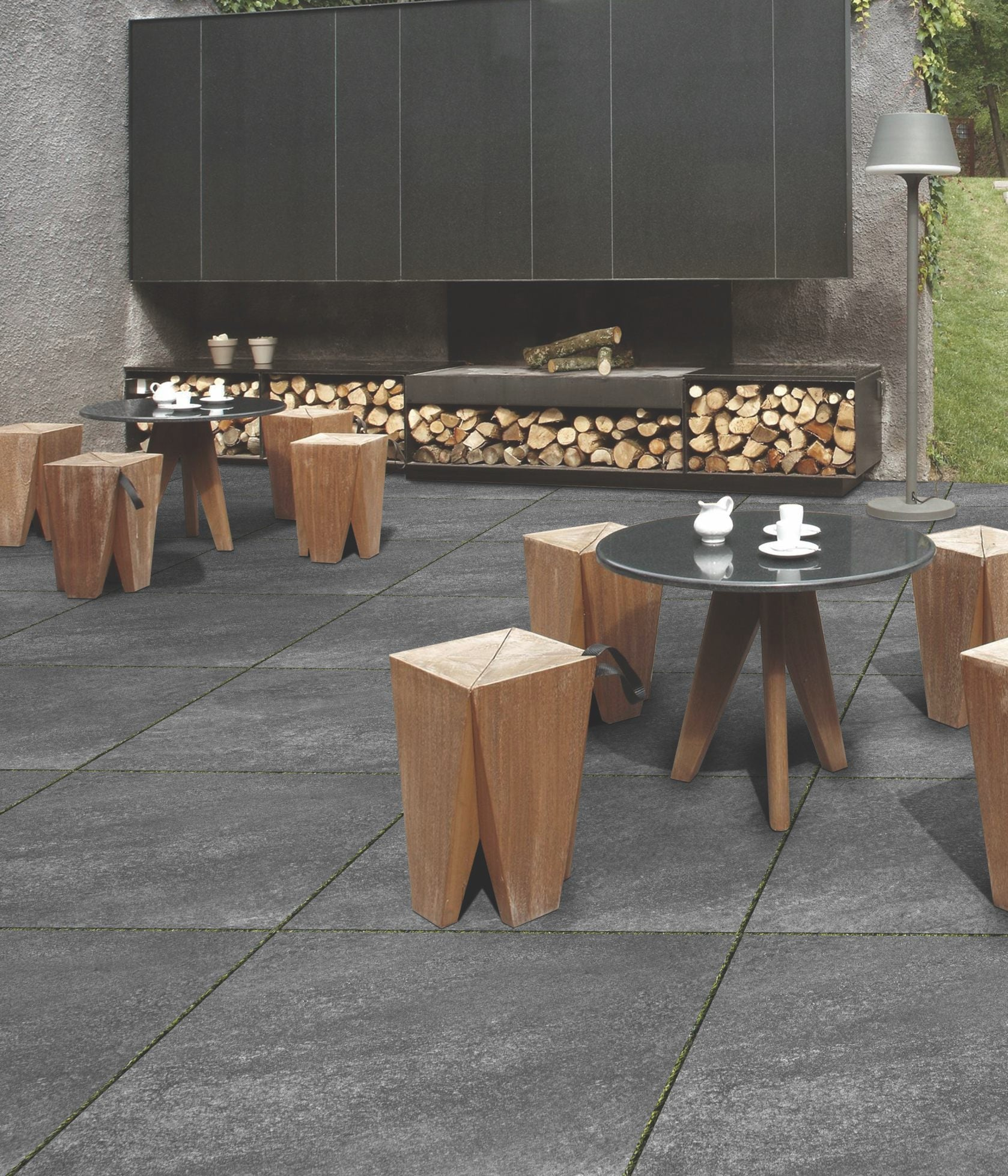 Porcelain Paving - Hammerstone -Nero - 900x600x20mm £26.99/m2