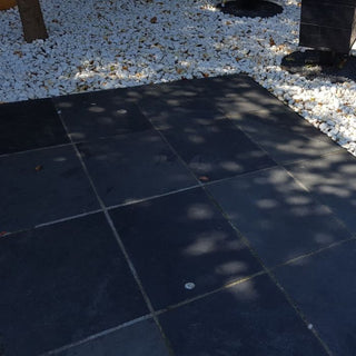 Black Slate, Brazilian Slate Black Paving Slabs 800x400x20mm £28.00/m2