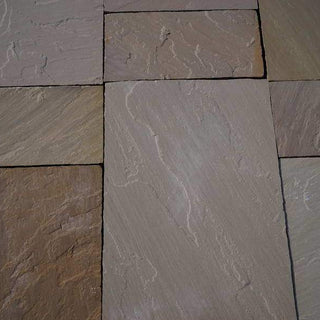 Raj Blend Sandstone Paving Slabs, 560 Series 3 Sizes 22mm Calibrated £17.46/m2