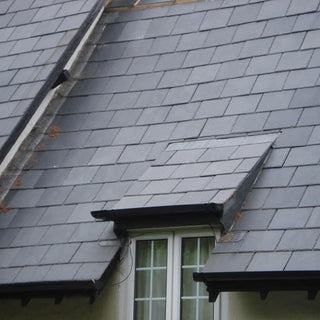 Roof Slate, Black Slate Roofing Tiles 500x250x5-7mm, £8.50/m2