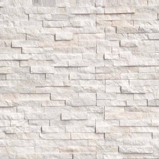 Sparkle White Split Face Tiles 550x150 £29.59/m2