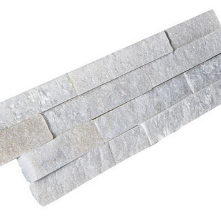 Stone Cladding, Wall Cladding, White Quartz Cladding 360x100 £25.29/m2