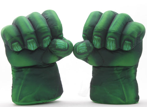 Plush The Incredible Hulk Gloves