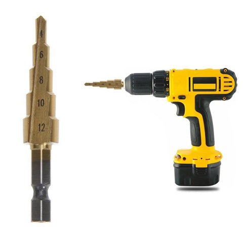 Cone Step Drill Hole Tools