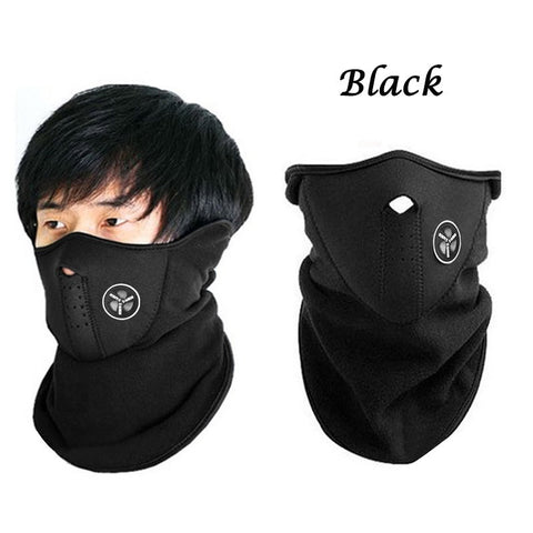 Breathable Half Face Mask Windproof&Anti-dust Mask Winter Ski Mask Warm Half Face Mask Cover Neck Guard Scarf For Outdoor Cycling Ride &Fit Cold Weather Sport Activities