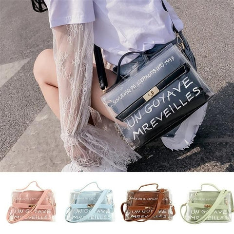 Hot Home Totes Home Hotel Transparent Bag