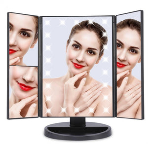 LED Touchscreen Beauty Mirror