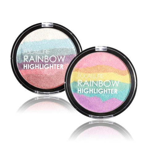 Rainbow Highlighter Shimmer Powder