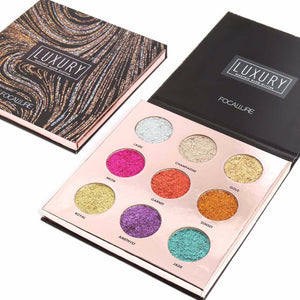 Luxury Glitter Eye Shadow Palette