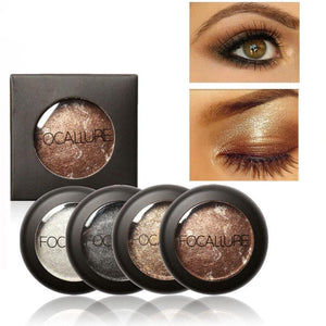 Shimmer Metallic Eye Shadow Blend