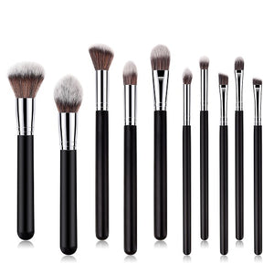 Professional Black Makeup Brush Set