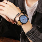 Easy Quartz Read Wrist 45mm Strap Round 8inch Leather Men Watch 1 Women Analog Alloy 0 To 8mm Couple 3inch Watches Dial