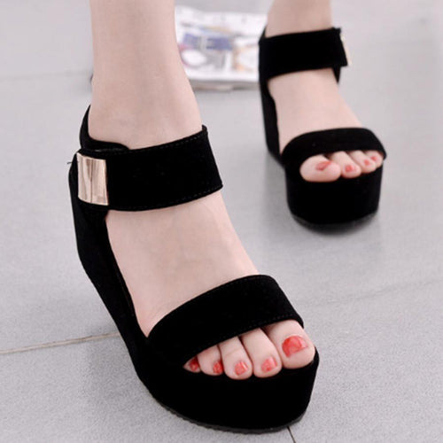 88903943b00d High Heeled Ankle Strap Peep Toe Casual Date Sandals