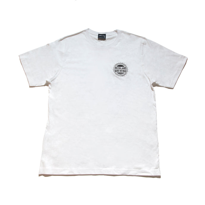Beerland Periodic White T'shirt