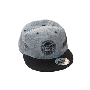 Beerland Hat Grey/Black