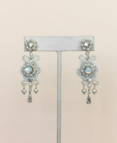 Flora Opal Earrings