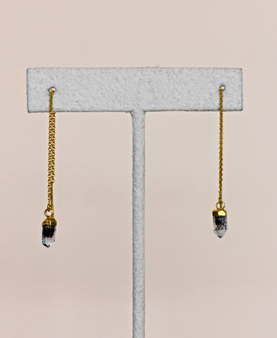 Herkimer Diamond Drop Earrings