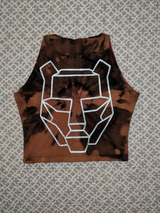 BTSM- Bleached Crop Top