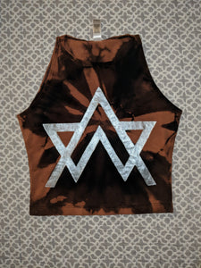 Alison Wonderland- Bleached Crop Top